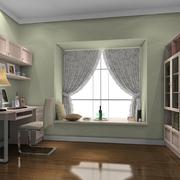 小清新书房设计