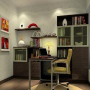 现代化的小书房