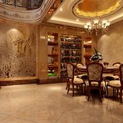 餐厅欧式餐桌图片