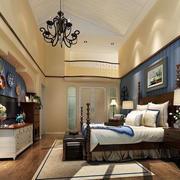 美式大气的卧室