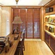 中式风格的书房