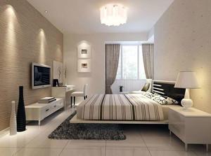 榻榻米卧室现代装饰