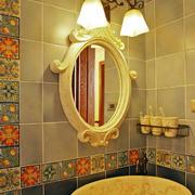 美式风格卫生间镜子