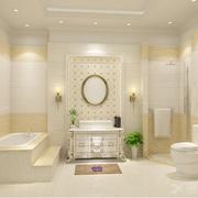 卫生间整体装潢图片