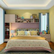 公寓黄色小卧室