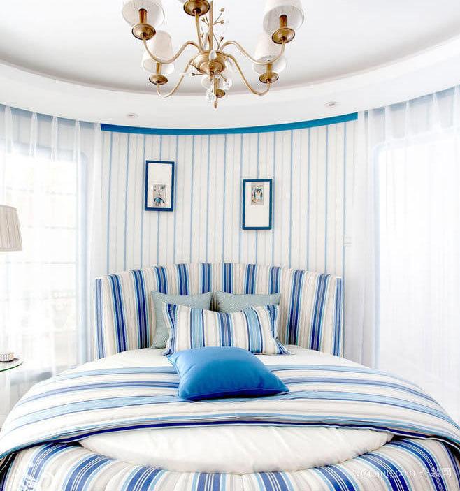 情迷地中海风情浪漫卧室装修效果图