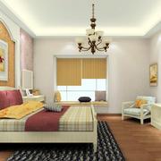 卧室简约现代化装潢
