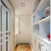 单身公寓玄关地板