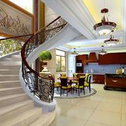 别墅旋转楼梯欣赏