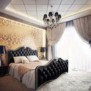 大户型卧室液体壁纸图