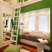小户型儿童房清新卧室