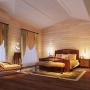 卧室窗户窗帘设计