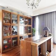 书房实木书桌椅