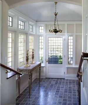 璀璨十足的大户型玄关地板砖装修效果图大全
