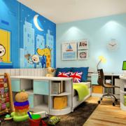 三室两厅卧室稚气壁纸欣赏
