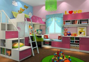 轻松打造小公主梦幻儿童房装修设计效果图