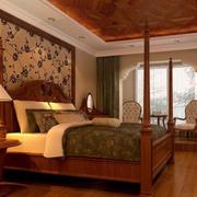 美式田园风格的卧室