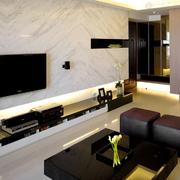 客厅东鹏瓷砖电视墙
