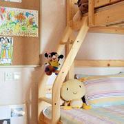 实木儿童床展示