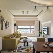 温馨的客厅装饰图