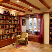 美式风格的精致书房