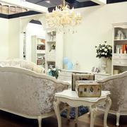 客厅白色时尚家具