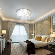 120平米素雅的卧室设计