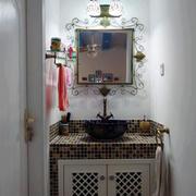 卫生间洗手台装饰