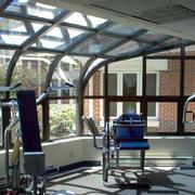 阳光房玻璃幕墙展示