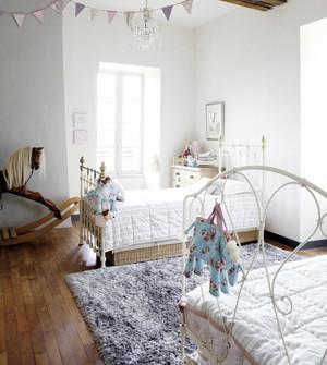 30平米精美温馨的简欧风格儿童房间装修效果图