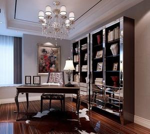 构思独到的欧式古典风格书房设计装修图片大全