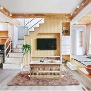 复式楼客厅楼梯欣赏