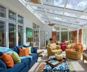 令人舒适的别墅阳光房装修效果图