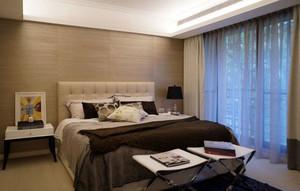 大气现代化的卧室