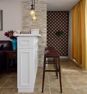 暖心的美式风格吧台设计装修图片大全