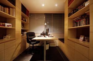 造型雅致的简欧风格书房设计装修图片大全