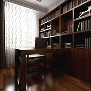 书房实木大型书架