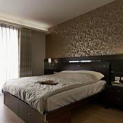 卧室液体壁纸装饰