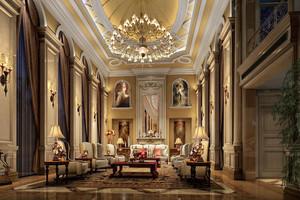 宏伟壮丽的客厅
