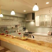 素雅的厨房展示