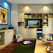 书房壁柜书架欣赏