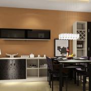 黑色耐用的餐厅餐桌