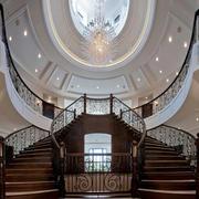 宫殿式别墅楼梯欣赏