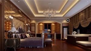 浪漫小清新风格别墅小卧室装修效果图