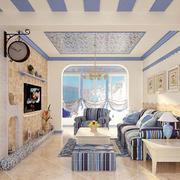地中海浪漫客厅装饰