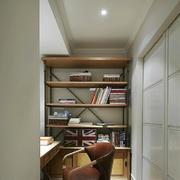 开放式客厅书房