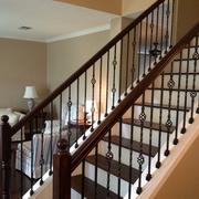 楼梯扶手图案设计