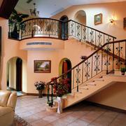 简欧式风格的楼梯