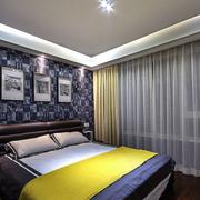 卧室精致的窗帘欣赏