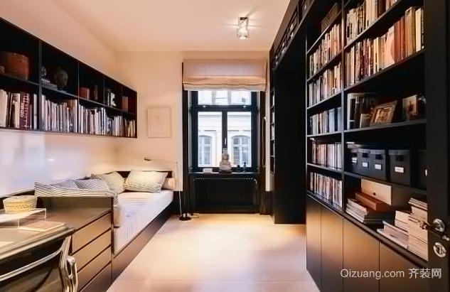 素雅清新的北欧风格书房设计装修图片大全
